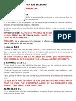 Sensacionalismo en Las Iglesias