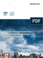 Climate Change Scenarios – Implications for Strategic Asset Allocation