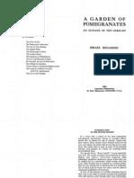 Isreael Regardie a Garden of Pomegranates 2Nd Ed