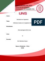 Softwares Usados para ingeniería civil