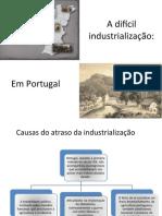 A difícil industrialização de Portugal -14-5