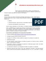 Régimen de incorporación fiscal en México