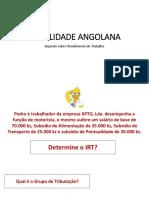 FISCALIDADE ANGOLANA - IRT