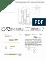 Practicas de Geometria Descriptiva I - Cuaderno N7 - CURSOS 83-92_RUC