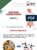 SISTEMA DIGESTÓRIO-BBPM I