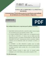 2020 Mediada Currículum-Niveles de especificación curricular