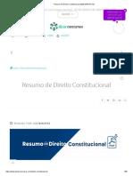 Resumo de Direito Constitucional 2020 [GRATUITO]