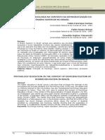 Formacion en Psicologia Brazil Democratizacion Educacion Superior
