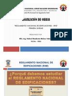 2. Reglamento Nacional de Edificaciones (RNE) - Diapositivas