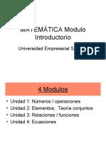 Modulo 1 - MATEMÁTICA Modulo Introductorio - copia