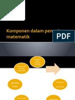 Komponen Dalam Pengajaran Matematik