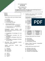 TEST 1 Form 4Sejarah