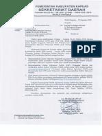 Penyampaian Operator Layanan Publik LAPOR, PPID, Kehumasan Dan DIP