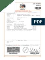 Corporación de Industriales de Maipú Certificado