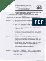 Pembentukan Tim Pemeriksaan Kesehatan CPNS Tahun 2018