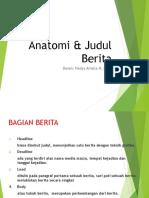 Anatomi  Judul Berita