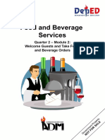 2nd Quarter Module 1 for Food and Beverages11 PDF