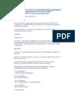 D. S. Nº 023-2001