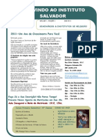Newsletter 1 Jan 2011