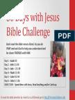 30 Days With Jesus - Week 1