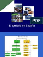 Los servicios en España