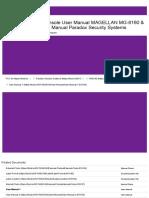 MG6160 Wireless Console  Manual MAGELLAN MG-6160 & MG-6160 _ Installation Manual Paradox Security Systems