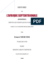 Berberie Tome II