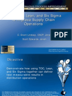 CPI Intel TOC Lean Six Sigma May 2008
