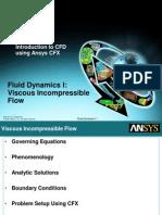 viscous incompressible flow.