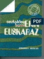 Euskaldun Berriekin Euskaraz. Joseba Tobar Arbulu