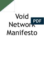 Void Network Manifesto