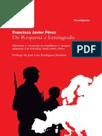 De-Requena-a Leningrado-Division-Azul 1941-1943