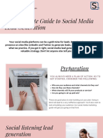 The Complete Guide to Social Media Lead Generation