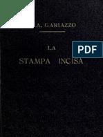 GARIAZZO, P. A. La Stampa Incisa (1907)