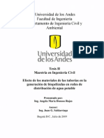 09-Efecto de los materiales de las tuberías en la generación de biopelículas en redes