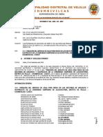 INFORME Nº 54 CONFORMIDAD DE ADICIONAL Y AMPLIACION DE PLAZO