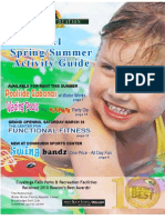 2011 Spring-Summer Activity Guide