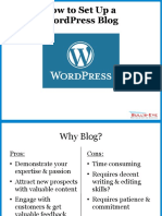 How to Create a WordPress.org Business Blog