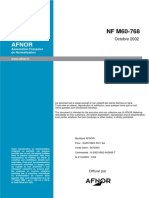 NF M 60-768