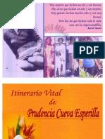 ITINERARIO DE MI MADRE