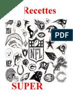 Recettes Du Super Bowl