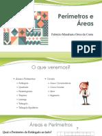 Aula Areas e perimetros Resumo