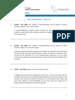 01.1 - Direito Interno - Lista Complementar