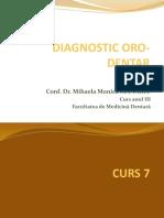 curs7 diagnostic oro-dentar