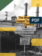 Mopani Copper Mine - A Scandal In Zambia