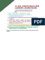 FRASES DE INSPIRACIÓN DE ALBERT EINSTEIN - tarea 1.docx