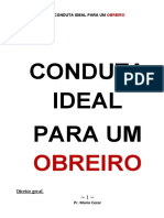 CONDUTA IDEAL PARA UM OBREIRO