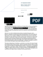 ATF Pistol Brace Document Dump