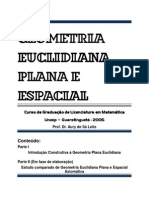 Apostila Geometria 1 - 2005