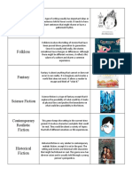 8 literacy genres